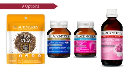 Blackmores Supplements: TwoPack .95 or FourPack .95 Don't Pay up to $207.96