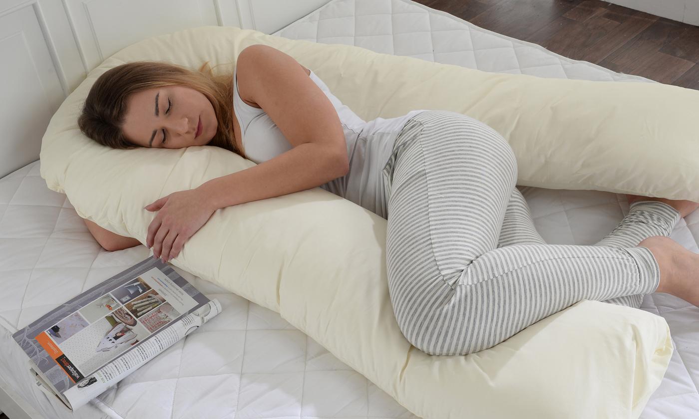 big u-shape full body support pillow