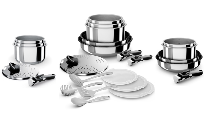 Batterie Inox Amovible Backen Groupon Shopping