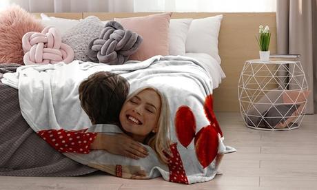 1 o 2 mantas personalizables en varios tamaños a elegir con Photo Gift