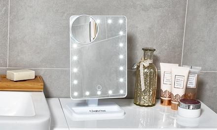 GloBrite Touch Screen LED-Make-up-Spiegel in Schwarz oder Weiß  (Duesseldorf)