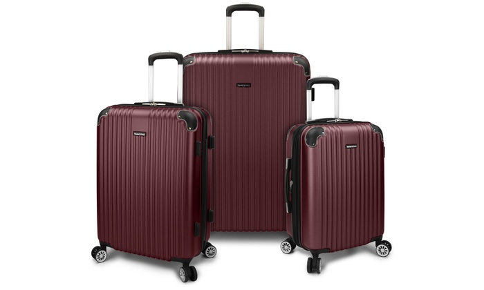 9452511ae0d6 Traveler's Choice Austin Hardside Spinner Luggage Set (3-Piece ...