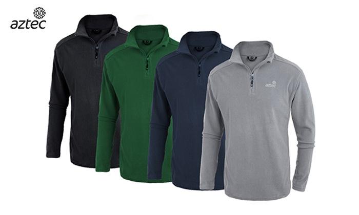 קולומביה - Merchandising (IL): חולצת תרמית מיקרופליס איכותית לגברים Micro-Hati M מבית AZTEC במגוון צבעים