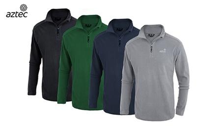 חולצת תרמית מיקרופליס איכותית לגברים Micro-Hati M מבית AZTEC במגוון צבעים