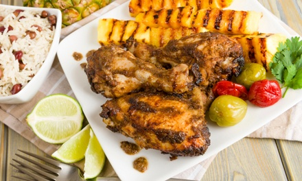 Caribbean Cuisine for Two or Four, or Carryout at Anntony's Caribbean Cafe (Up to 52% Off)