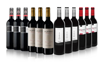 12 Bottles of Mixed Red Spanish Winefor £64.99 With Free Delivery (38% Off)