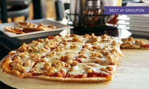 Mario's Famous Pizza: Italian Cuisine at Mario's Famous Pizza (Up to 52% Off). Four Options Available.