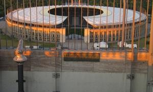 Glockenturm am Olympiastadion: Eintritt für 2 Erwachsene, optional mit 2 Kindern, für den Glockenturm am Olympiastadion (50% sparen*)