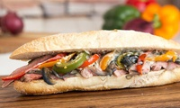 Artisan Hot Roast Carved Meat Baguette, Gateau Slice and Drink for One or Two at Philpotts, 21 Locations