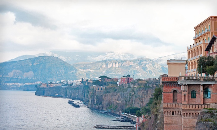 Tour with Airfare - Roma: Seven-Day Fully-Escorted Tour of Sorrento and Rome from Great Value Vacations with Airfare, Hotel Stays, and Some Meals