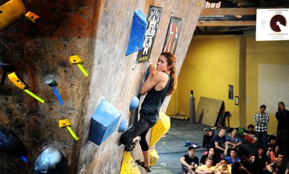 $20 for One-Hour Intro to Bouldering Clinic at Bridges <strong>Rock</strong> Gym ($30 Value)