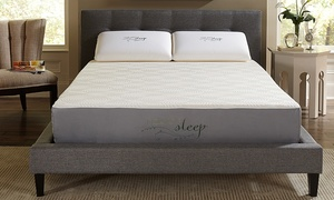 "Nature's Sleep 10"" Memory Foam Mattresses with Optional Foundation"