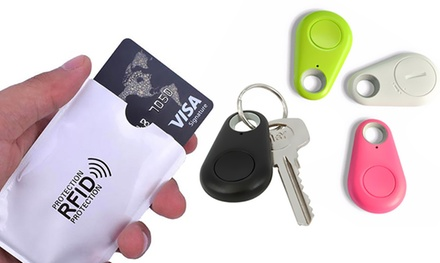 Pack tracker et pochette RFID protection CB