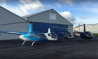 Eight-Mile Helicopter Flight for One or Two with Arcus Helicopters, Three Locations