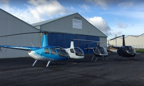 Experience: Eight-Mile Helicopter Flight For just: £29.0
