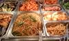 Aoba - Paris: Buffet à volonté pour 1, 2 ou 4 personnes dès 14,50 € au restaurant Aoba