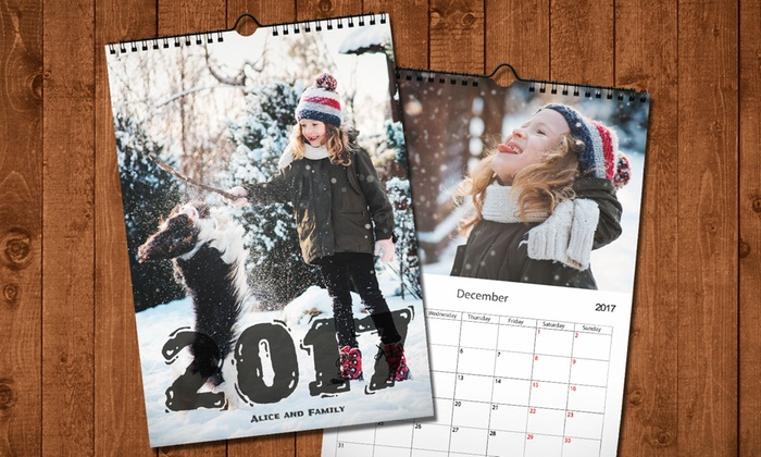 up to 89 off on custom photo calendars groupon goods