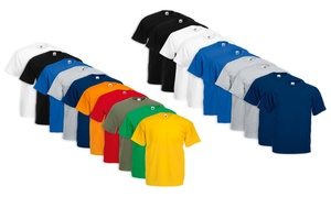 10 t-shirts Fruit of The Loom