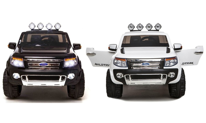 TitoloMinicar Ford Ranger 12 V BabyCar disponibile in 2 colori