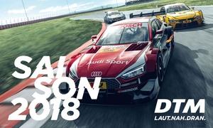 DTM: 2 Tages- oder Wochenendtickets inkl. Fahrerlager für ein DTM-Rennen in der Saison 2018 (bis zu 33% sparen
