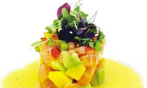 Mizu Japanese Sushi & Hibachi: Sushi and Hibachi Cuisine at Mizu Japanese Sushi & Hibachi (Up to 43% Off). Two Options Available.