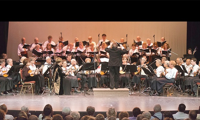 Romanza feat. The Toronto Mandolin Orchestra - Borochov Cultural Centre: Romanza feat. The Toronto Mandolin Orchestra at Borochov Cultural Centre on Saturday, March 28 (Up to 38% Off)