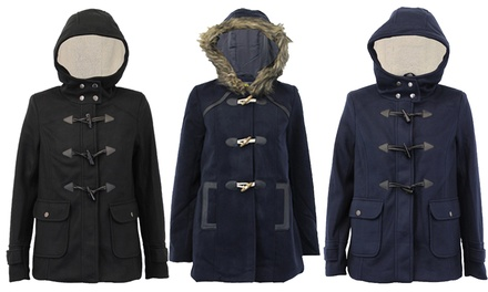 Women's Winter Duffle Coat In Choice of Colour and Design