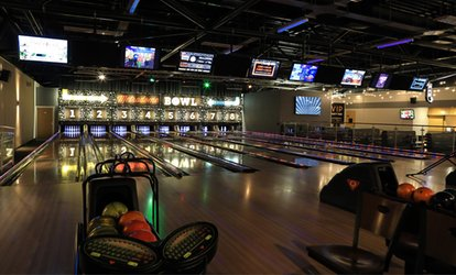 "Game of Bowling for Up to Six or Game of Bowling and 12"" Pizza for Up to Four at Metrodome Bowl (Up to 67% Off)"