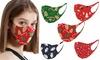 5x Christmas-Themed Face Masks