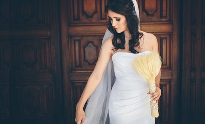 image for Full-Day Wedding Photography with 20-Page Album from Love Like Crazy (59% Off)