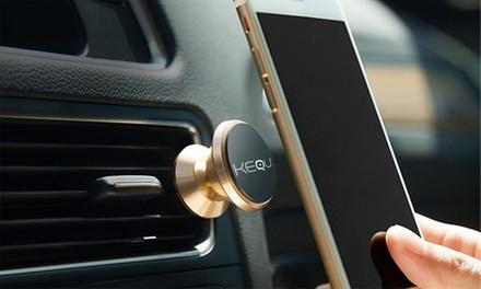 1 o 2 soportes magnéticos de teléfono móvil para coche