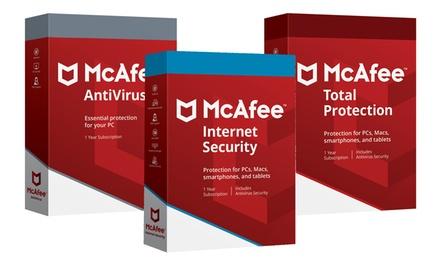 Logiciel antivirus McAfee 2019, téléchargement immédiat