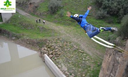 Salto de puenting para una o dos personas desde 24,95 € en AULAVERTICAL