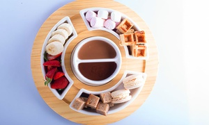 Passiontree Velvet - St Ives: Fondue and Hot Chocolate for Two ($16.50) or Four People ($32) at Passiontree Velvet, St Ives (Up to $66 Value)