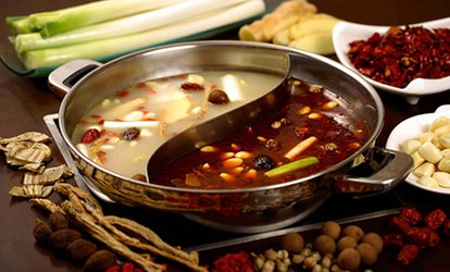 Voucher Valid on the Mongolian Fondue at the Restaurant Little Sheep Mongolian Hot Pot (40% Off), 2 Locations