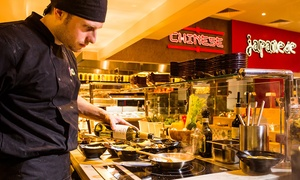 Fed: Made to Order All-You-Can-Eat International Buffet for Up to Four at FeD (Up to 43% Off)
