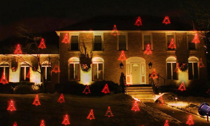 holiday design laser light projector groupon