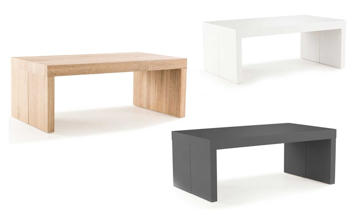 Table Basse Extensible Many Groupon Shopping