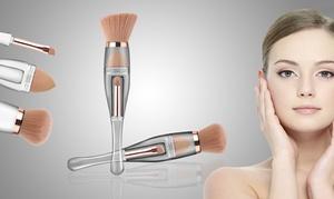 (Beauté)  Pinceau de maquillage 3 en 1 -74% réduction