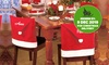 Six Personalised Christmas Chair Covers