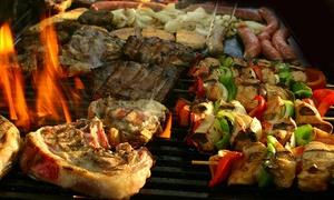 Pizzeria Ristorante Il Murale: Menu con 1 kg di grigliata mista di carne e vino per 2 o 4 persone da Pizzeria Ristorante Il Murale (sconto fino a 61%)