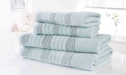 Lot de 6 serviettes spa en coton egyptien