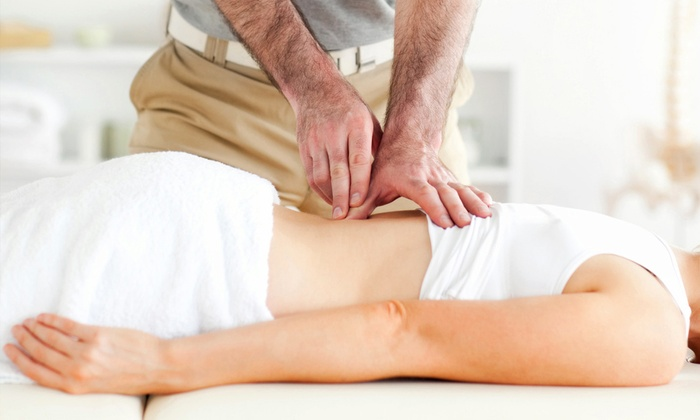 Quantum Vitality Centres - The Villages: Chiropractic Package with Massage, Evaluation, and One or Three Adjustments at Quantum Vitality Centres (Up to 71% Off)