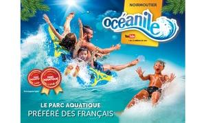 Océanile: 2 à 6 entrées au parc aquatique Océanile pour 1 journée dès 36 €