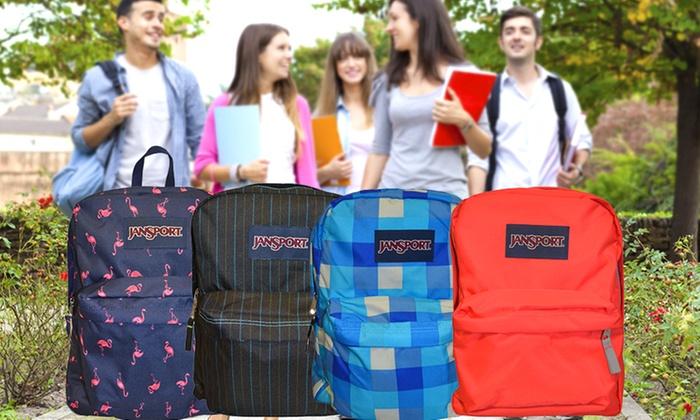 JanSport SuperBreak Backpack | Groupon
