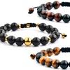 Shocker Tie Natural Healing Stone Bracelets