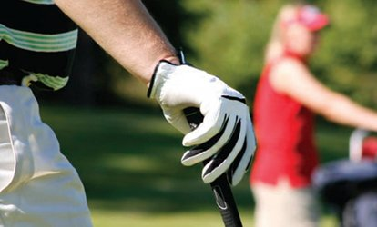 Nine Holes and 30 Range Balls For Two or Four at Branston Golf and Country Club (52% Off)