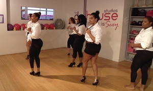 The Dollhouse Studios: 5 or 10 Pole and Dance Fitness Classes at The Dollhouse Studios (Up to 72% Off)
