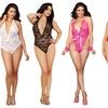 Women's Plus Size Lace Teddies
