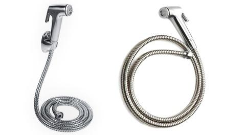 Soffione doccia con tubo flessibile